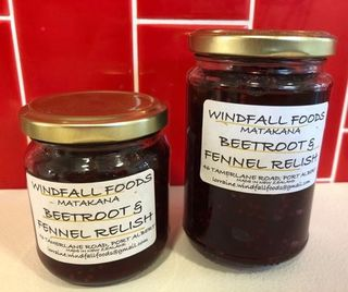 Beetroot and Fennel Relish