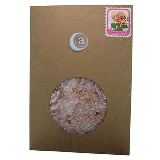 Pink Bath Salts Envelope