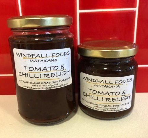 Tomato and Chilli Relish