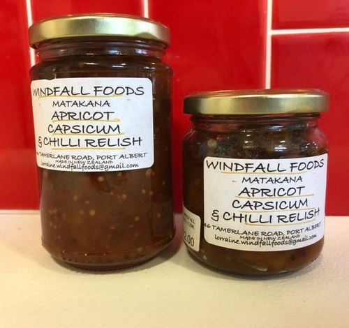 Apricot, Capsicum and Chilli Relish